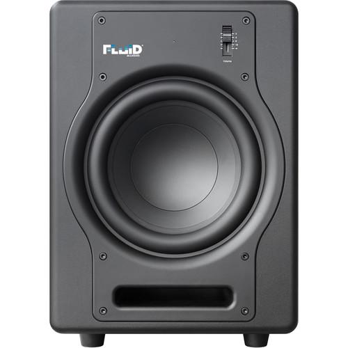 "Fluid Audio F8S - 200W 8"" Active Studio Reference Subwoofer (Black)"