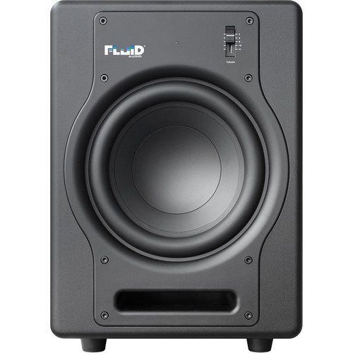 "Fluid Audio F8S - 200W 8"" Active Studio Reference Subwoofer (Black)"