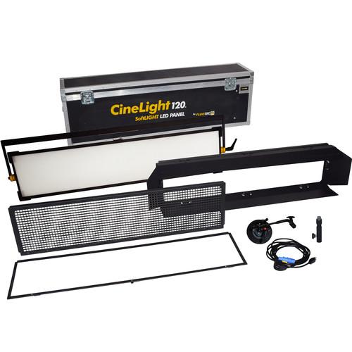Fluotec CineLight Production 120 LED Panel 1-Light Kit with Yoke Mount
