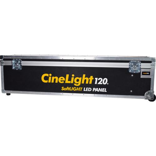 Fluotec Wheeled Flight Case for CineLight 120