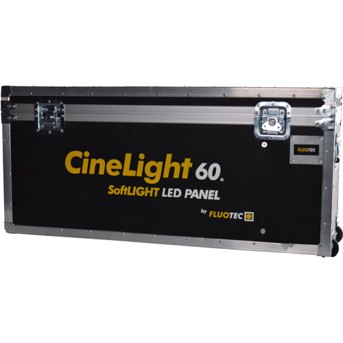 Fluotec Flight Case with Handle and Wheels for CineLight 60 Series