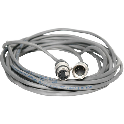 Fluotec DMX 5-Pin XLR Male to 5-Pin XLR Female Extension Cable (9.96')