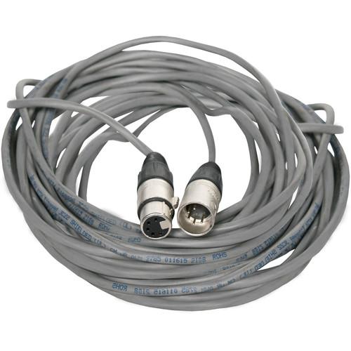 Fluotec DMX 5-Pin XLR Male to 5-Pin XLR Female Extension Cable (60')