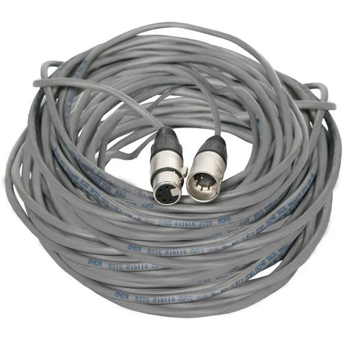 Fluotec DMX 5-Pin XLR Male to 5-Pin XLR Female Extension Cable (100')