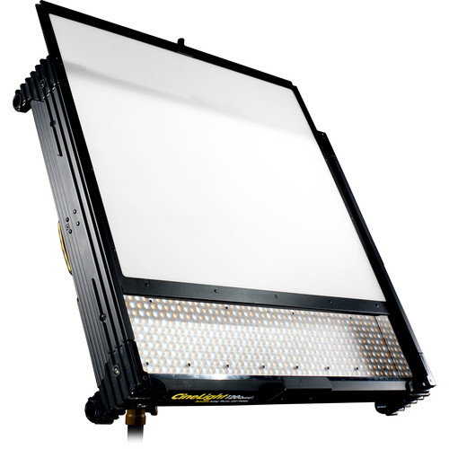 Fluotec Cinelight Studio 120 Interchangeable Diffusion Tunable Led Panel With Stand Mounting Bracket 266W