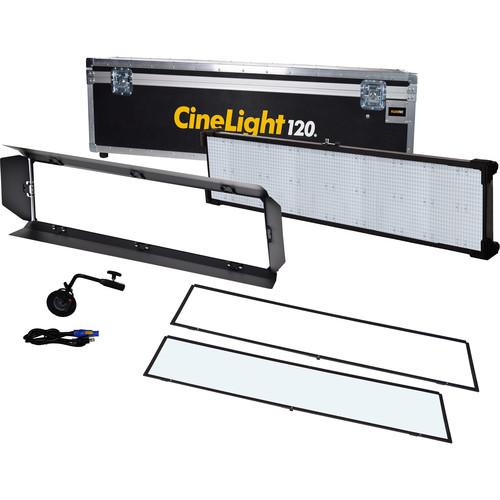Fluotec Cinelight Studio 120 LED Panel Long-Throw Light Kit with Bracket & Flight Case