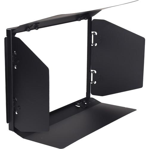 Fluotec 4-Leaf Barndoor Set for StudioLED 650 Series Softboxes