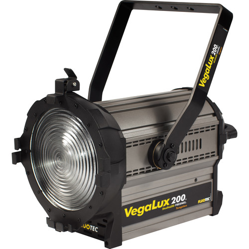 "Fluotec VegaLux 200 Tungsten 7"" StudioLED Fresnel (Stand Mount)"