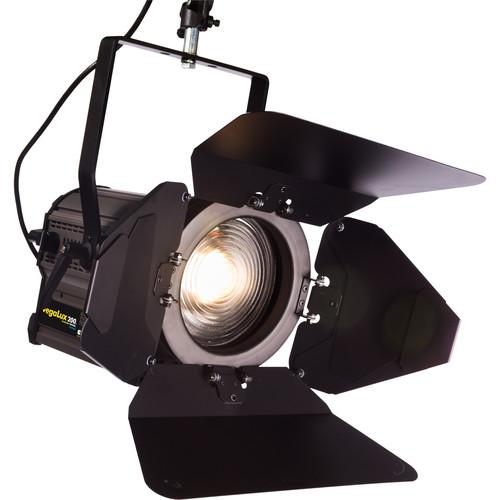 "Fluotec VegaLux 200 Daylight 7"" StudioLED Fresnel (Stand Mount)"