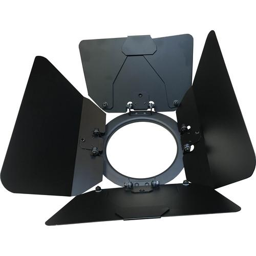 Fluotec 8-Leaf Barndoors for AuraLux StudioLED Fresnel
