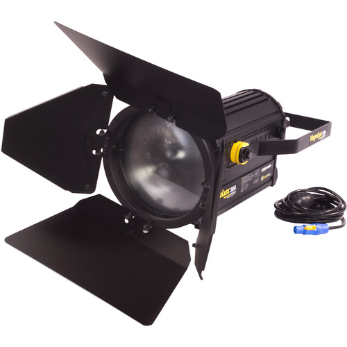 """Fluotec VegaLux 300 Tunable 10"""" StudioLED Fresnel with Stand Mount Yoke"""