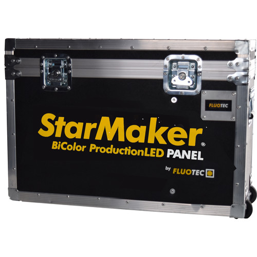 Fluotec Heavy-Duty Flight Case with Wheels for StarMaker HP Panels