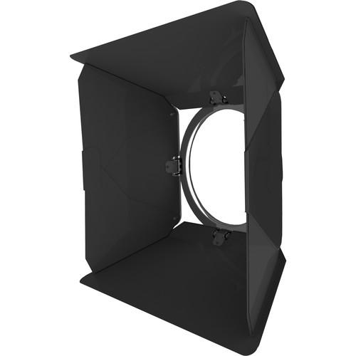 Fluotec 8-Leaf Barndoor Set for VegaLux 500 Series Fresnels