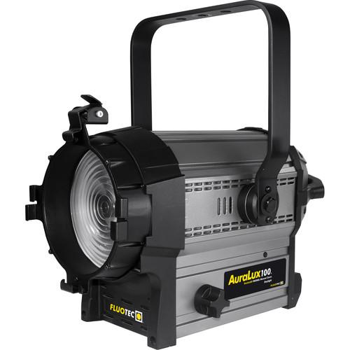 """Fluotec AuraLux 100 Daylight LED 5.5"""" LED Fresnel with Stand-Mount Yoke"""