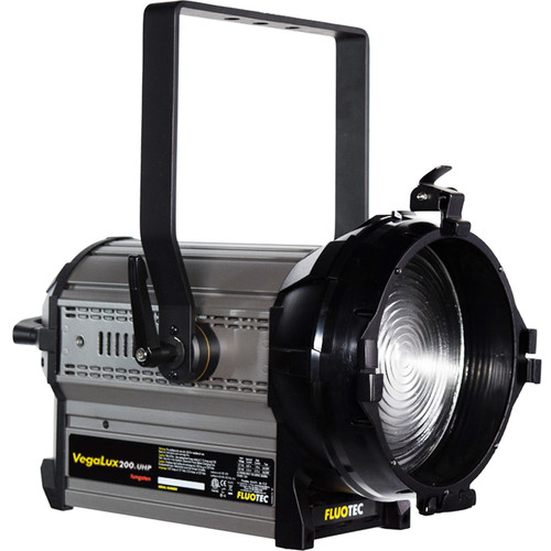 Fluotec Vegalux 200 UHP Tungsten 7 Studioled Fresnel 197W