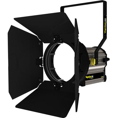 "Fluotec VegaLux 300 Daylight 10"" StudioLED Fresnel with Stand Mount Yoke"