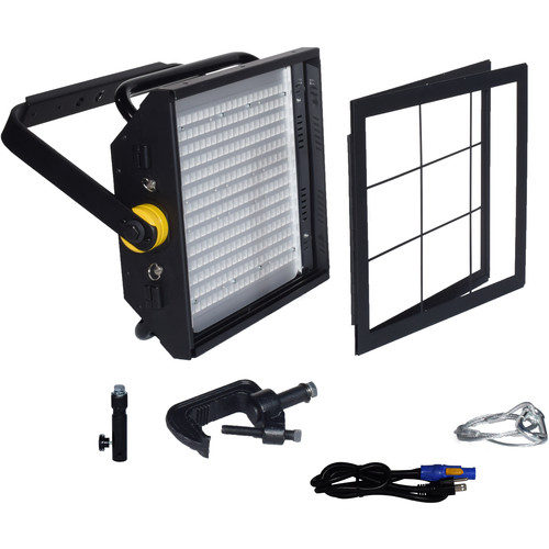 Fluotec Studioled 250 HP Tunable 66W 16Ft Light Panel/Powercon Cable.