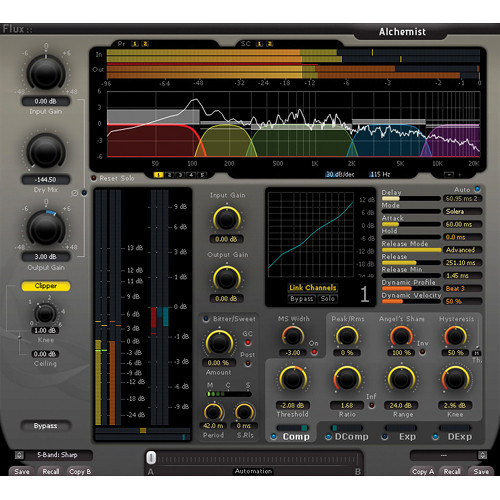 FLUX Alchemist Multiband Dynamics Processor