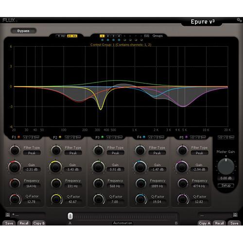 FLUX Epure V3 5-Band Parametric EQ (AAX Native & DSP)