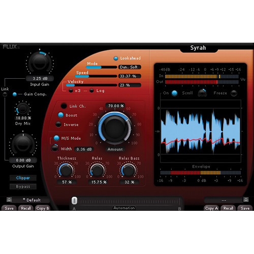 FLUX Syrah Creative Adaptive-Dynamics Processor