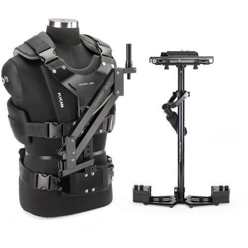 FLYCAM HD-5000 Stabilizer with Sliding QR Platform, Table Clamp, and Comfort Arm & Vest