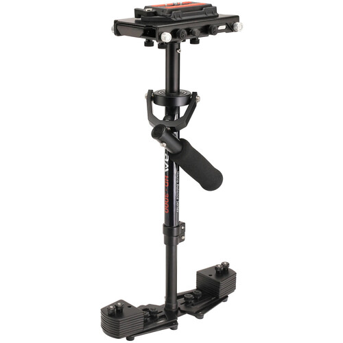 FLYCAM HD-3000 Video Camera Stabilizer with Quick Release Plate and Table Clamp