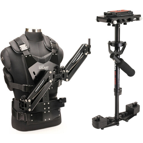 FLYCAM HD-3000 Stabilizer with Sliding QR Platform, Table Clamp, and Galaxy Arm & Vest
