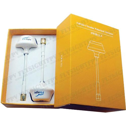 FlySight 5.8 GHz Omnidirectional Circular Polarized Antenna Set