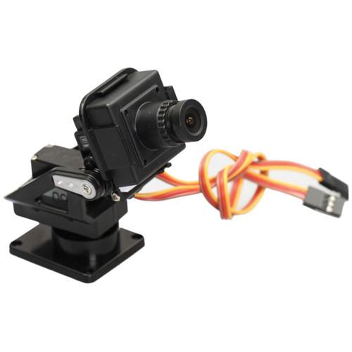 "FlySight Color 1/3"" FPV Camera with Pan/Tilt Bracket"