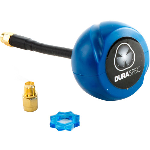 FlySight DuraSpec Omni Antenna with SMA Connector for 5.8 GHz FPV Systems (RHCP, Blue)