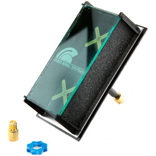 FlySight Pepperbox High-Gain Wide-Beam FPV Antenna (LHCP, Green)