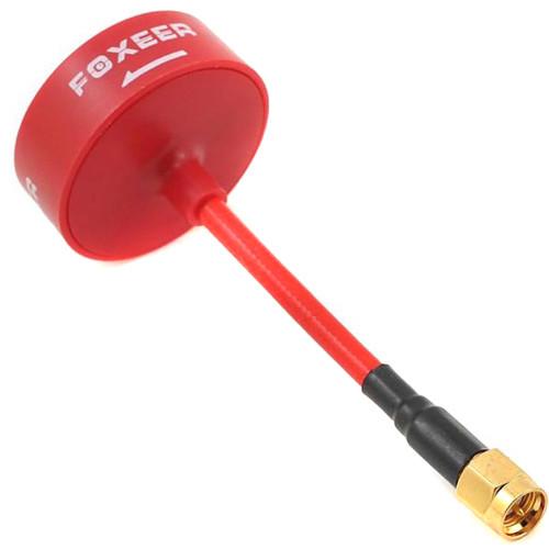 FlySight Foxeer 5.8 GHz Circular-Polarized Omni Antenna (RHCP, Red)