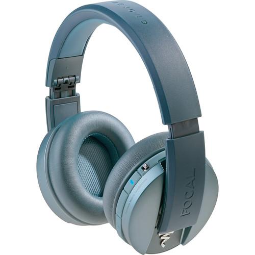 Focal Listen Wireless Chic Over-Ear Headphones (Blue)
