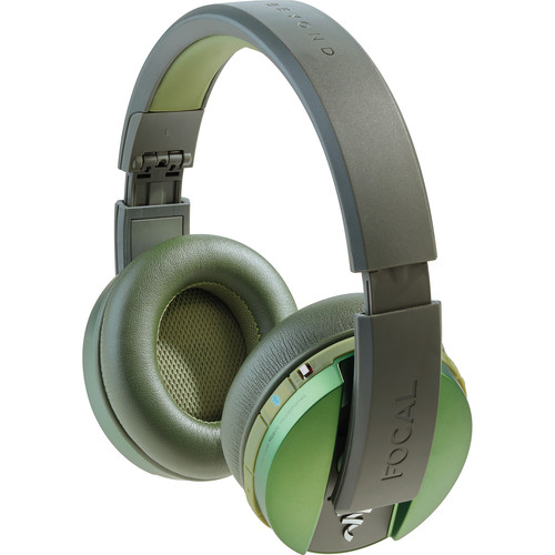 Focal Listen Wireless Chic Over-Ear Headphones (Green)