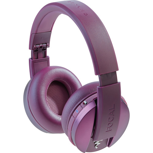 Focal Listen Wireless Chic Over-Ear Headphones (Purple)