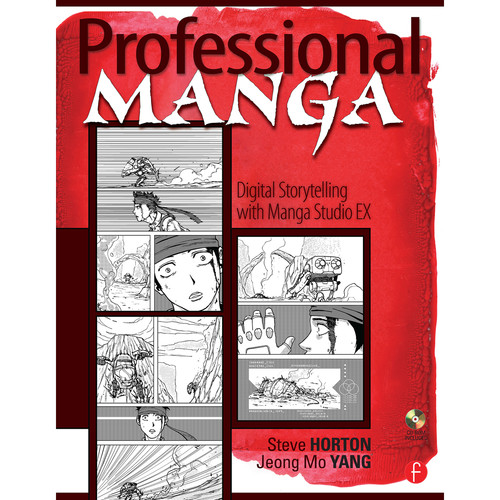 Focal Press Book: Professional Manga: Digital Storytelling with Manga Studio EX (Paperback)