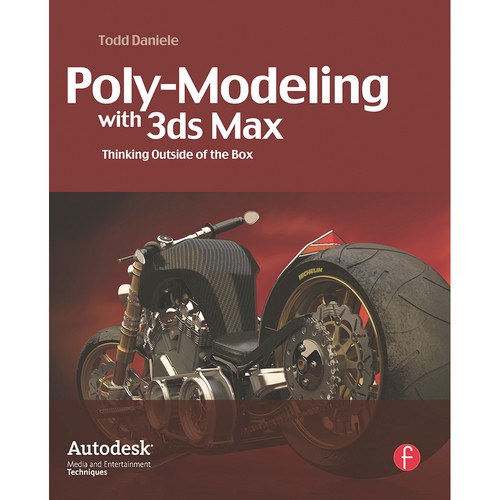 Focal Press Book: Poly-Modeling with 3ds Max: Thinking Outside of the Box (Paperback)
