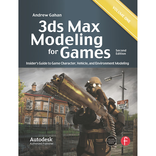 Focal Press Book: 3ds Max Modeling for Games: Insider's Guide to Game Character, Vehicle, and Environment Modeling (Volume I, 2nd Edition, Paperback)