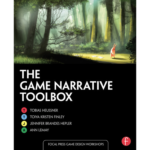 Focal Press Book: The Game Narrative Toolbox (Paperback)