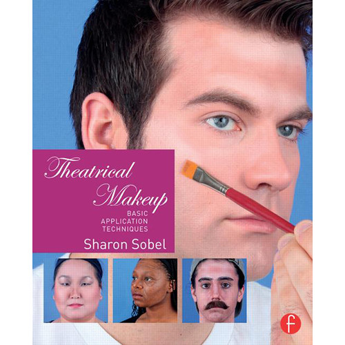 Focal Press Book: Theatrical Makeup - Basic Application Techniques (Hard Cover)