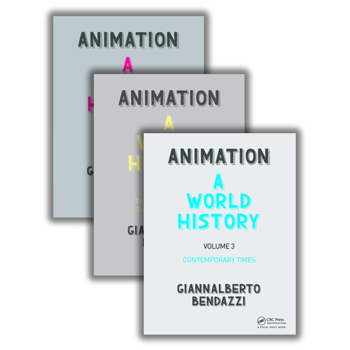 Focal Press Book: Animation: A World History: The Complete Set (Pack)