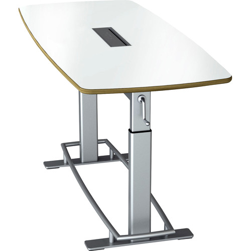 Focal Upright Furniture Confluence Table 6 (White Dry Erase)
