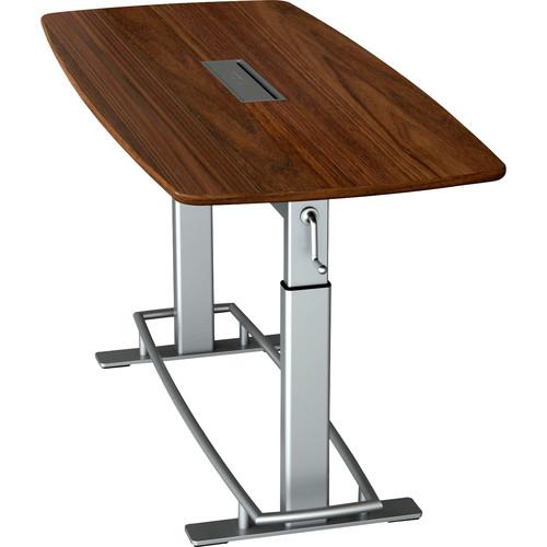 Focal Upright Furniture Confluence Table 6 (Black Walnut Veneer)