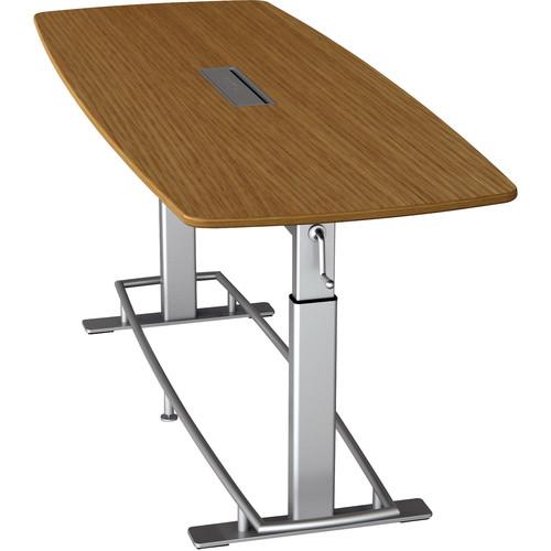 Focal Upright Furniture Confluence Table 8 (White Oak/ Veneer)