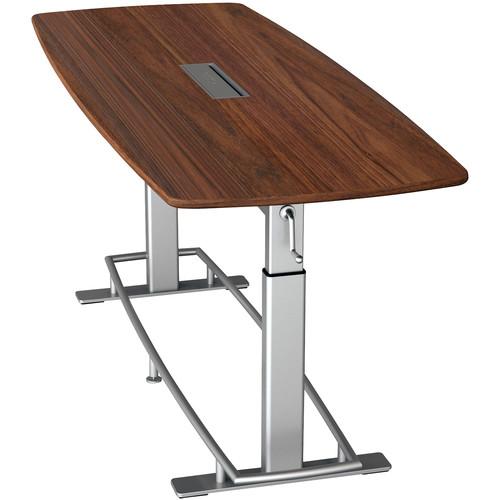 Focal Upright Furniture Confluence Table 8 (Black Walnut Veneer)
