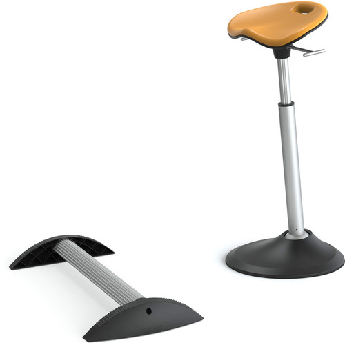 Focal Upright Furniture Mobis Upright Seat & Stabilizing Foot Rest Kit (Citrus Cushion)