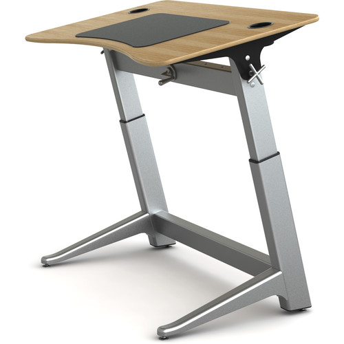 Focal Upright Furniture Locus Standing Desk (White Oak Top)