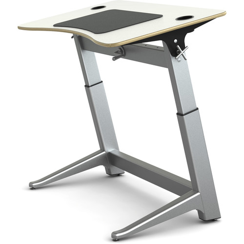 Focal Upright Furniture Locus Standing Desk (Glacier White Top)