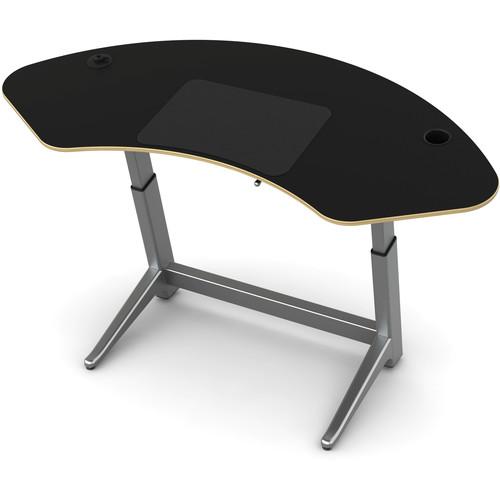 Focal Upright Furniture Sphere Standing Desk (Matte Black Top)
