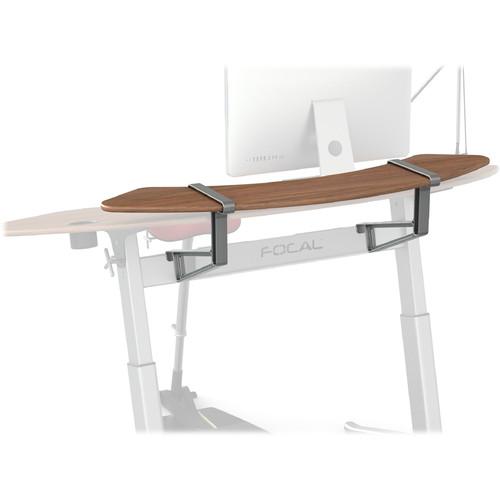 Focal Upright Furniture Sphere Shelf (Black Walnut Veneer)